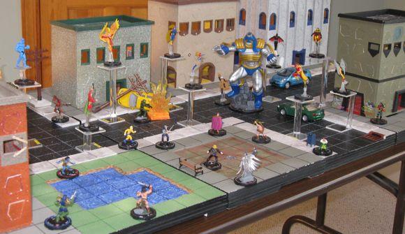 heroclix boardgame