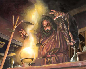 Quando nessuno degli esperti di corte sa più rispondere alle mille domande dei propri sovrani fa la sua comparsa il mago.