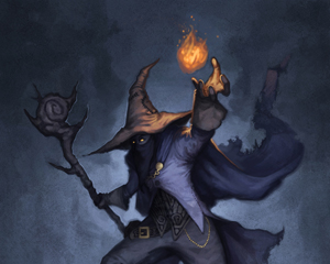 A seconda del loro allineamento, i maghi possono essere tanto rispettati quanto temuti.