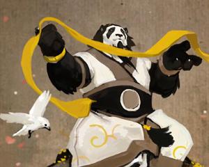 Con l'intento di dare più tempo ai pandaren per apprendere la lezione che lui stesso ha dovuto subire, interpreta le parole di Yu'lon e offre la propria esistenza per la salvezza di tutta Pandaria.
