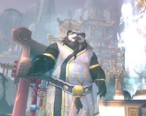 L'imperatore Shaohao nella Valle dell'Eterna Primavera.