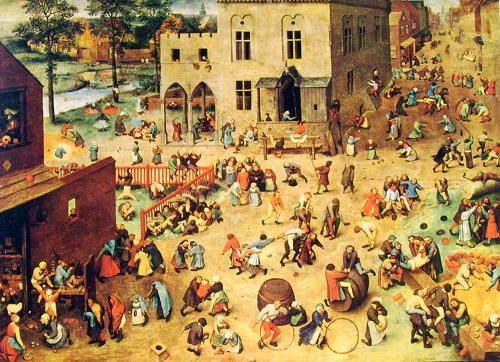 Giochi di Bambini, certo la più famosa opera di Bruegel