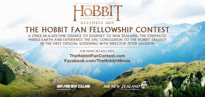 The Hobbit Fan Fellowship Contest