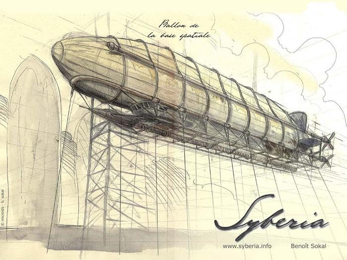 Potevano mancare i dirigibili in una storia steampunk che si rispetti?