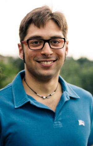 Lo scrittore Matteo Marchisio.
