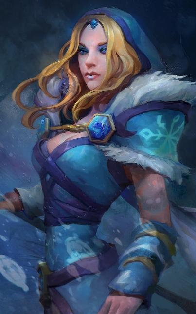 Una Elsa decisamente più fantasy
