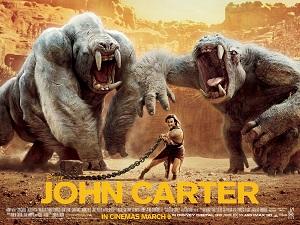 La locandina del John Carter della Disney.