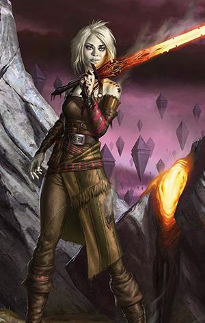 Nahiri, una dei tre planes che riuscirono a fermare per la prima volta gli Eldrazi!