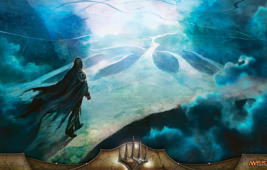 Ecco cosa si trovano di fronte i nostri planes quando viaggiano da un piano ad un altro: La Cieca Eternità.