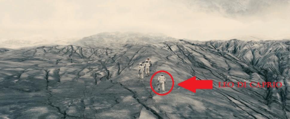 Un cammeo del grande Di Caprio. La storia degli Oscar 2013 è ormai acqua passata, vero Leo?