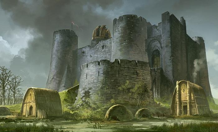 un castello...una palude...i Forgotten Realms...chi ha detto Mare dei Morti??