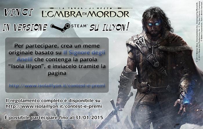 Concorso meme Ombra di Mordor