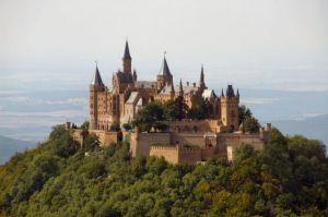 Burg Hohenzollern, Bisingen, Germania.