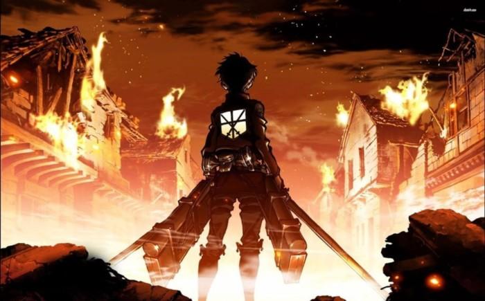 Una città in fiamme, un eroe in primo piano e sono subito mani in faccia e dolore grave.