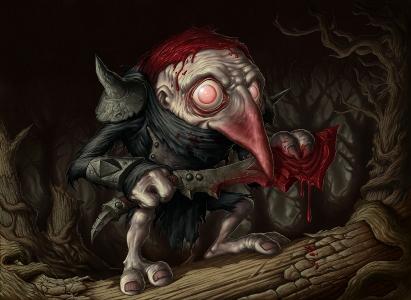 Il Murderous Redcap, non è carino?