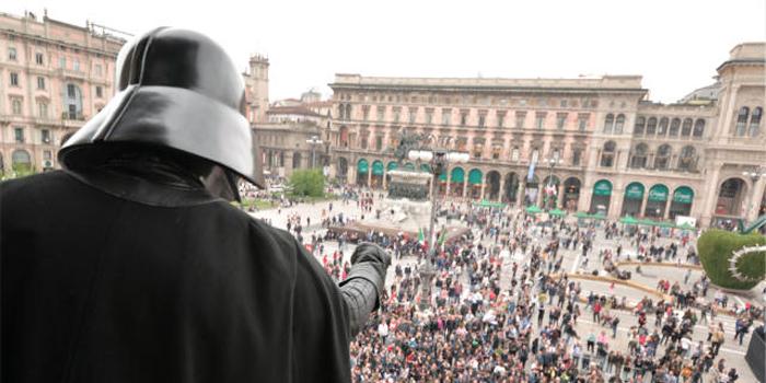 Ultim'ora: Darth Fener avvistato a Milano!