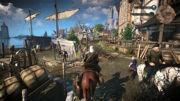 The Witcher 3 recensione