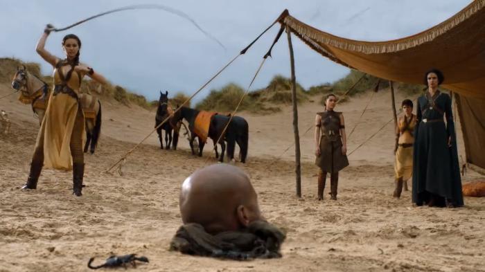 Game of Thrones irriconoscibile