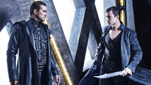 dominion recensione serie tv gabriel e michael