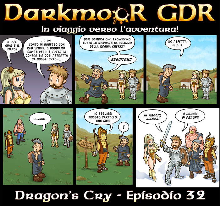 Darkmoor Dragon's Cry Episodio 32