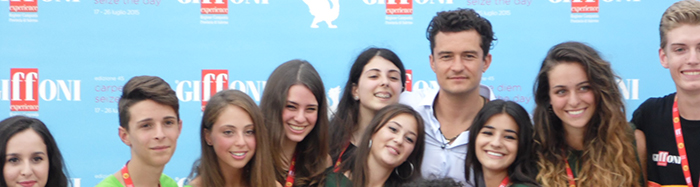 Orlando Bloom Giffoni 2015