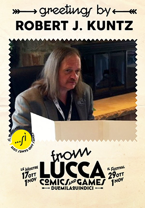 Robert Kuntz Lucca Comics 2015