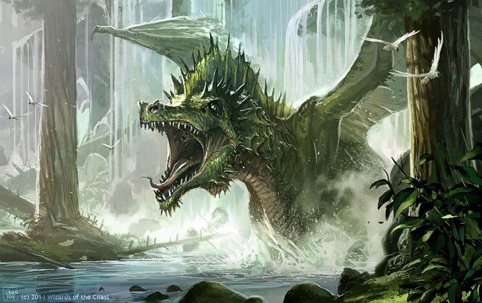 Drago verde
