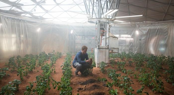 The Martian Sopravvissuto