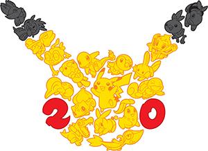 pokemon 20 anni