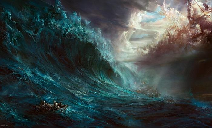 Scrivere di Fantasy è come navigare in un mare in tempesta, ma questi giovani autori se la sono cavata.