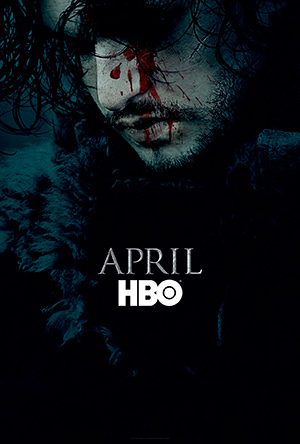 Poster sesta stagione Game of Thrones