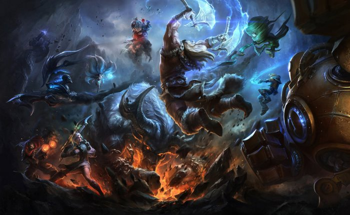 league of legends storia