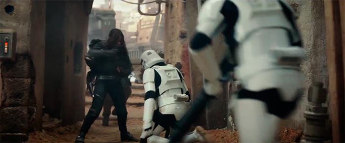 Jyn Erso Stormtrooper