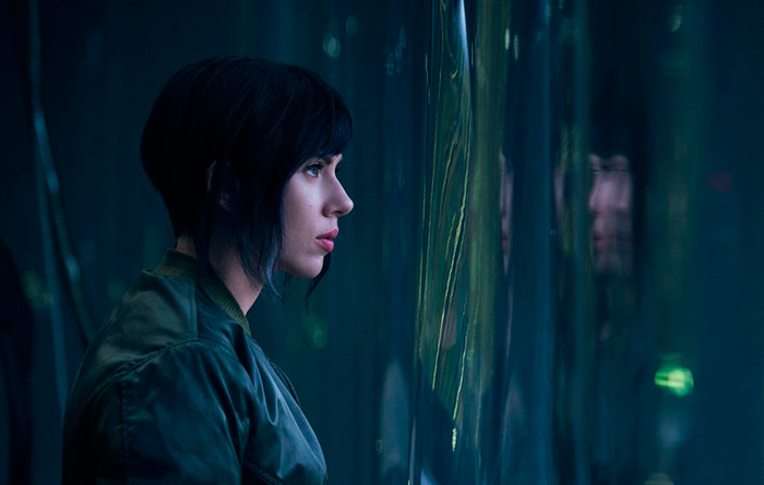 Scalett Johansson Ghost in the shell
