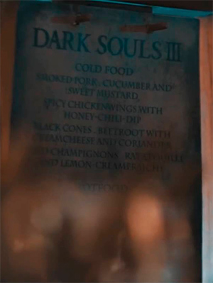 Menu Tavern of Souls