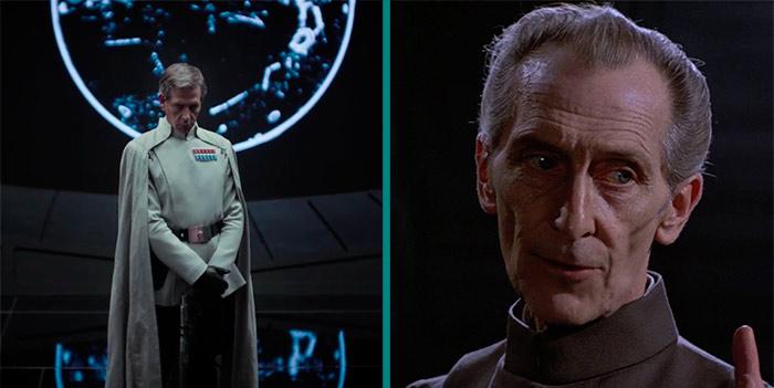 Wilhuff Tarkin attore Rogue One