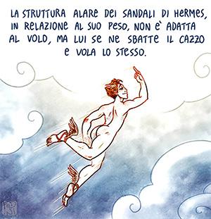 Hermes Olimpo Gioie e Disagi