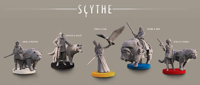 3D modelli SCYTHE steampunk