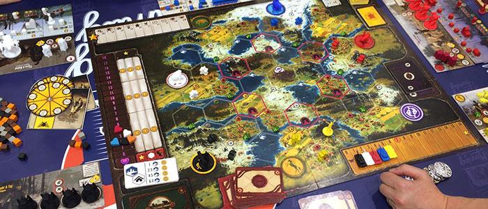 Scythe gioco da tavolo steampunk