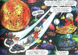 Paperino e il razzo interplanetare