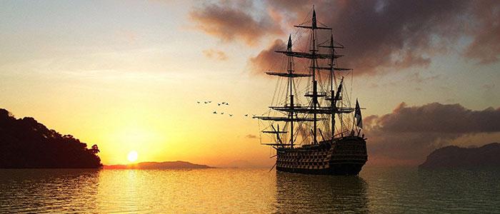 nave-al-tramonto