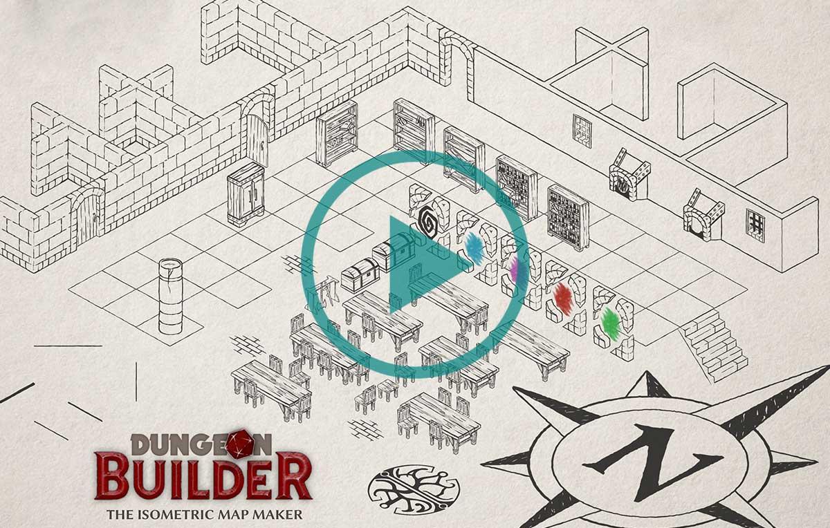 Dungeon builder crea la tua mappa isometrica per i gdr for Crea la tua planimetria gratis