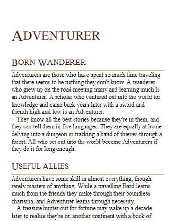 avventuriero