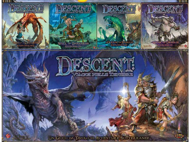 Af4 bundle descent total isola illyon - Descent gioco da tavolo ...
