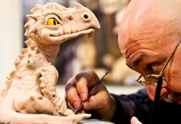 Sculture fantasy drago giulio Golinelli