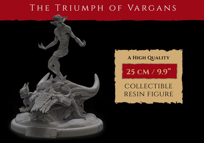 vargan-statuetta