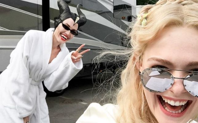 maleficent 2 foto dal set